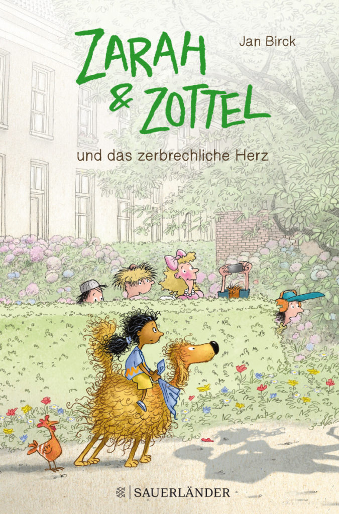 Buchcover: Zarah reitet auf ihrem Zottel